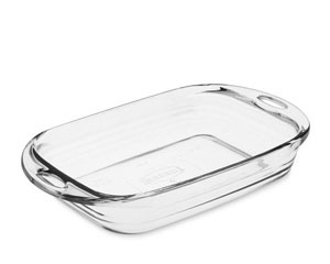 glass baking dish sizes