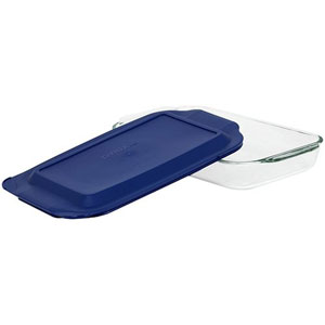 glass baking dish temperature