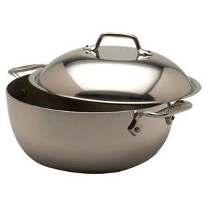 TRAMONTINA 6.5 Qt Spell beat Dutch Oven Cobalt Blue Enameled Cast Iron  .
