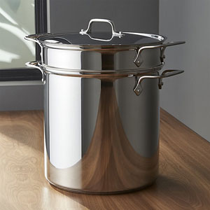 all clad steamer basket