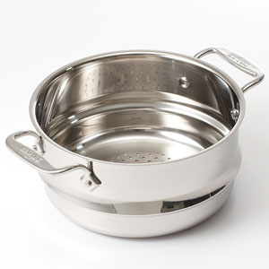 all clad steamer set