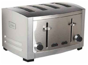 front loading toaster