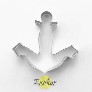 navy anchor cookie cutter