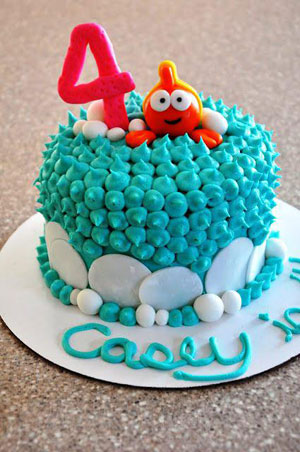 bubble guppies cake supplies