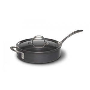 New Calphalon Commercial Nonstick Hard Anodized 13 Wedge Cookware Set.