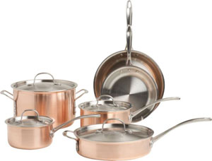 copper cooking pan