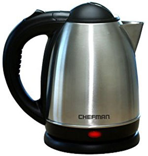 chefman cordless electric kettle review