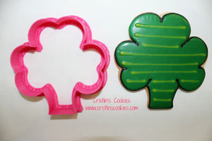 large shamrock cookie cutter
