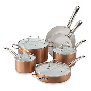 copper pan as seen on tv