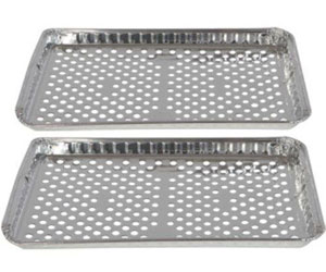 disposable grill pans with holes