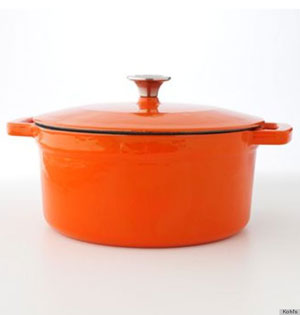 food network enameled cast iron