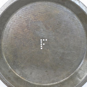 frisbie pie tin for sale
