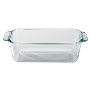 glass bread loaf pan