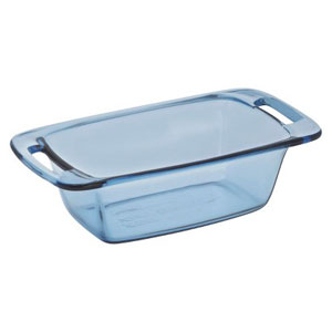 glass loaf pan with lid