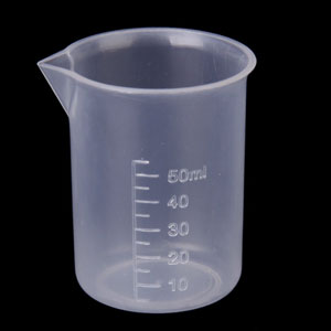 graduated plastic measuring cups