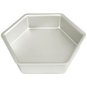 18 inch hexagon cake pan
