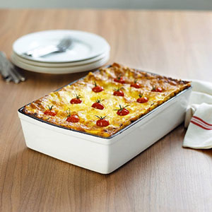 ceramic deep dish lasagna pan