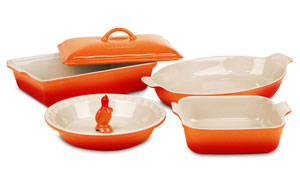 le creuset baking pan