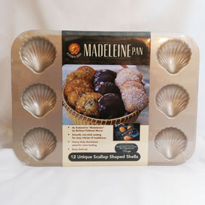 madeleine cookie molds