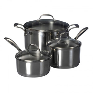 oneida stainless cookware