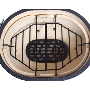 Granite Ware 2006 8 Fixed Oval Roaster Rack with.