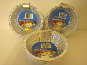 10 inch disposable pie tins