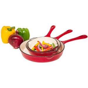 ceramic enameled cast iron cookware