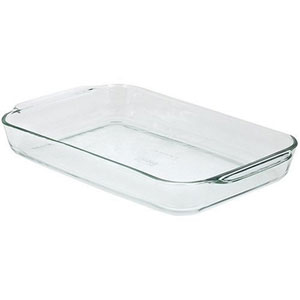 9x13 covered casserole dish