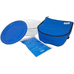 pyrex hot cold food carriers