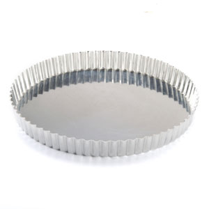 2 Terminate 8.8 Inches Non Stick Removable Loose Bottom Quiche Tart Pan, Tart Pie.