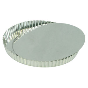 2 Away 8.8 Inches Non Stick Removable Loose Bottom Quiche Tart Pan $8.99.