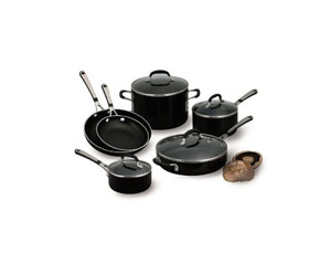 Giveaway Simply Calphalon 10 Piece Cookware Set | Leite's Culinaria.