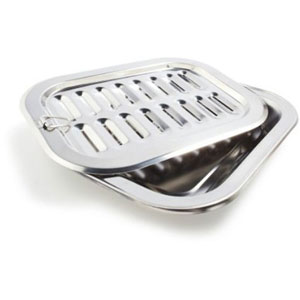 Stainless Steel Broiler Pan Best Kitchen Pans For You