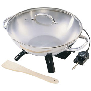 electric woks on sale