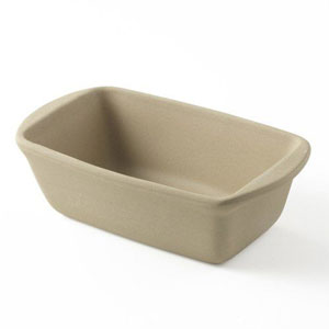 stone bread pan with lid