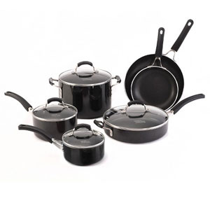 #Calphalon #Coincidental 8 Quart #Non #stick Dishwasher Safe Stock Pot with.