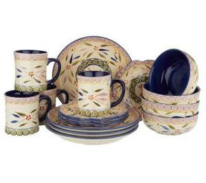 qvc kitchen clearance temptations  sc 1 st  Pans Pan & Temptations Dinnerware Sets | Best kitchen pans for you - www ...