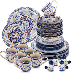 temptations old world dinner set