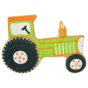 tractor cookie cutters by wilton