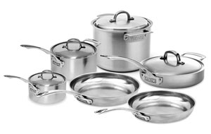 viking stainless cookware
